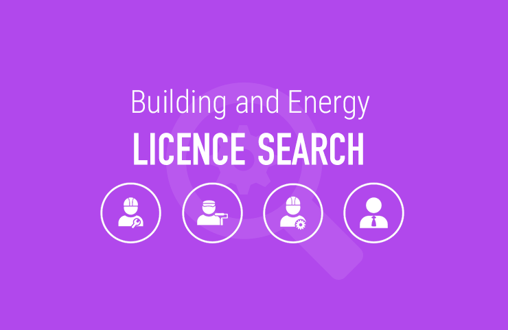 Building and Energy licence search